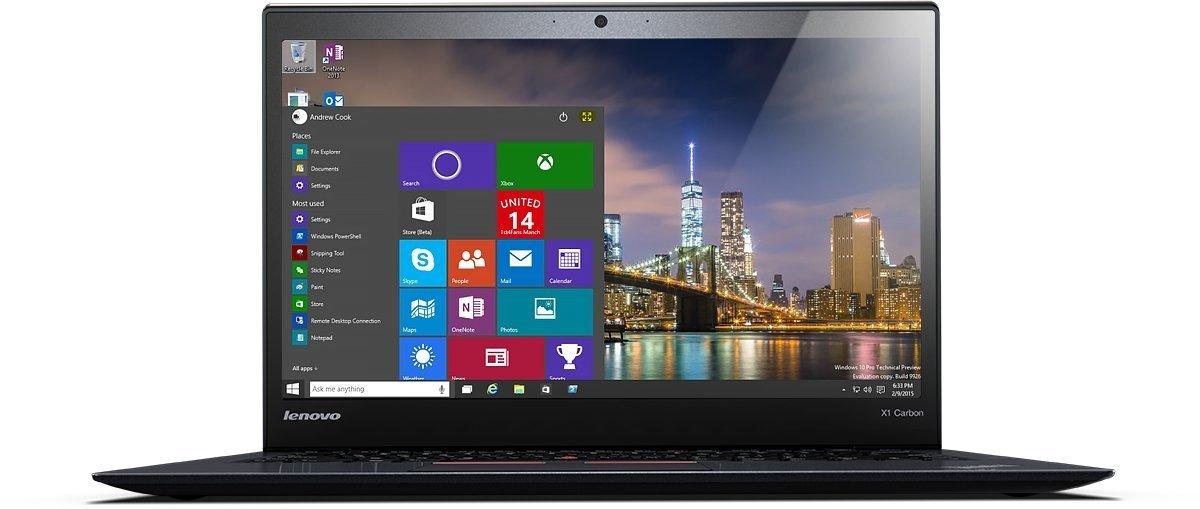 Lenovo ThinkPad X1 Carbon (4th Gen 2016) - Thinkpads